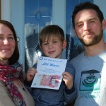 The Lloyd Family – Prize Draw Winners At Showcase